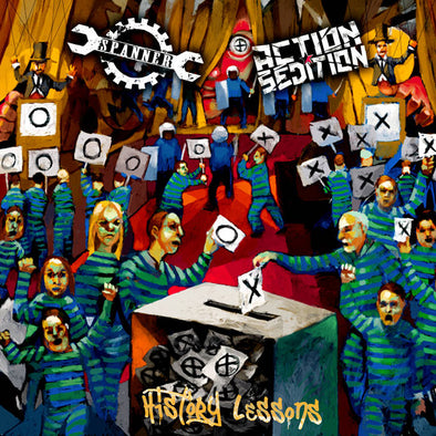 Action Sedition/ Spanner - History Lessons EP