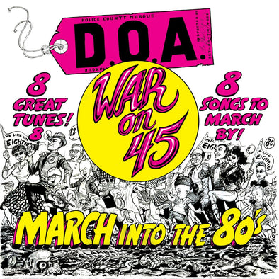D.O.A - WAR ON 45 JIGSAWS