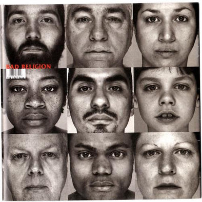 BAD RELIGION ‎– THE GRAY RACE 12""