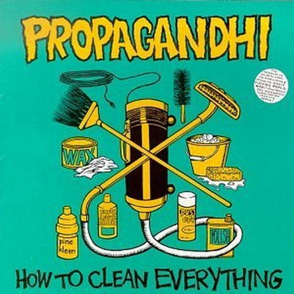 Propagandhi - how to clean everything LP