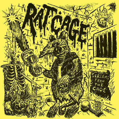 Rat Cage - Screams From The Cage 12""