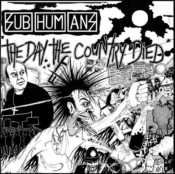 SUBHUMANS - ' THE DAY THE COUNTRY DIED' Jigsaws