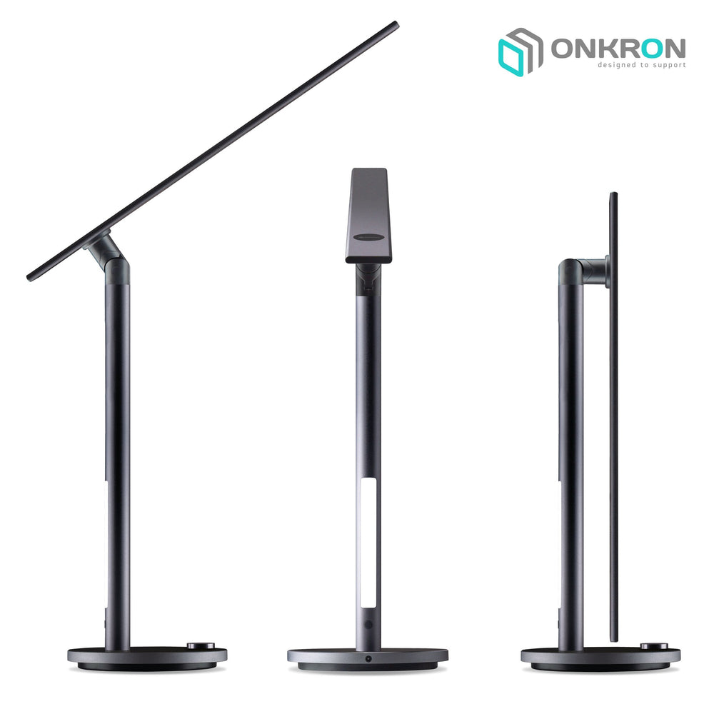 LED Desk Lamp Eye Caring Dimmable Table Lamp with 3 Lighting Modes D5A