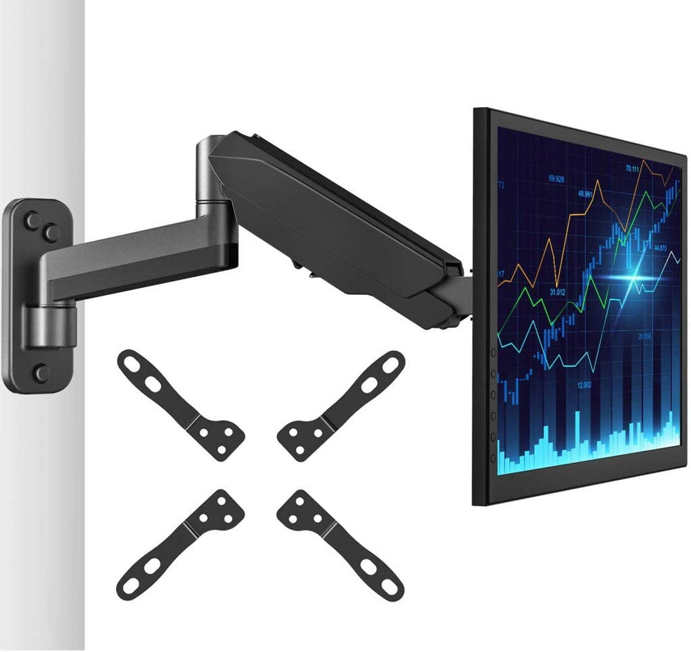 VESA Adapter Convert Existing Bracket Mount from 75x75 – 100x100 to 200x100 – 200x200 A2G Black