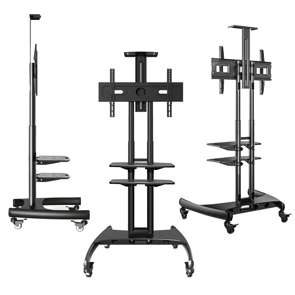 "Onkron Mobile Universal TV Cart TV Stand w/Mount for Most 32"" to 65"""