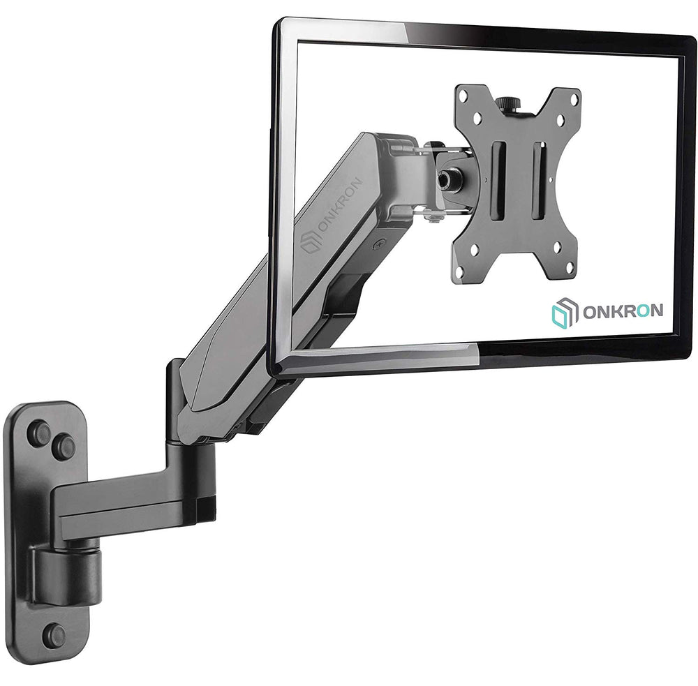 ONKRON TV Monitor Wall Mount Bracket Black G150