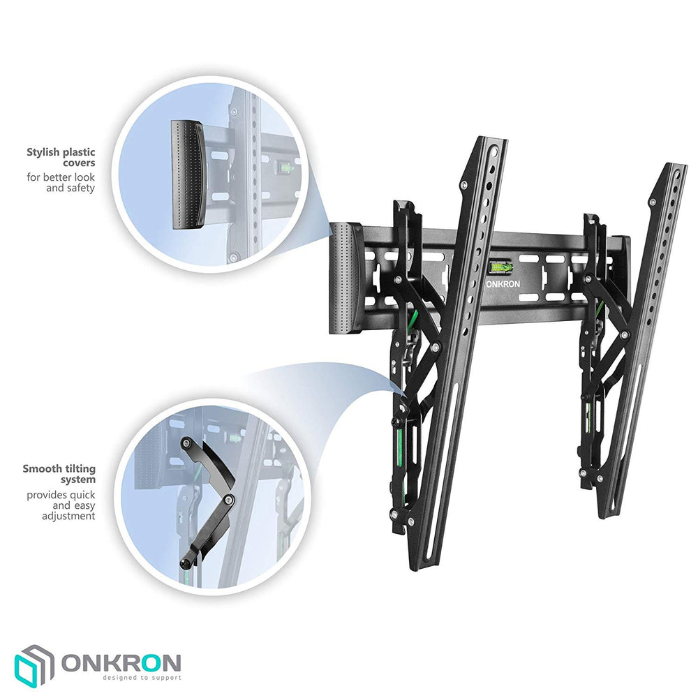 ONKRON Tilting TV Wall Mount for 40 to 65