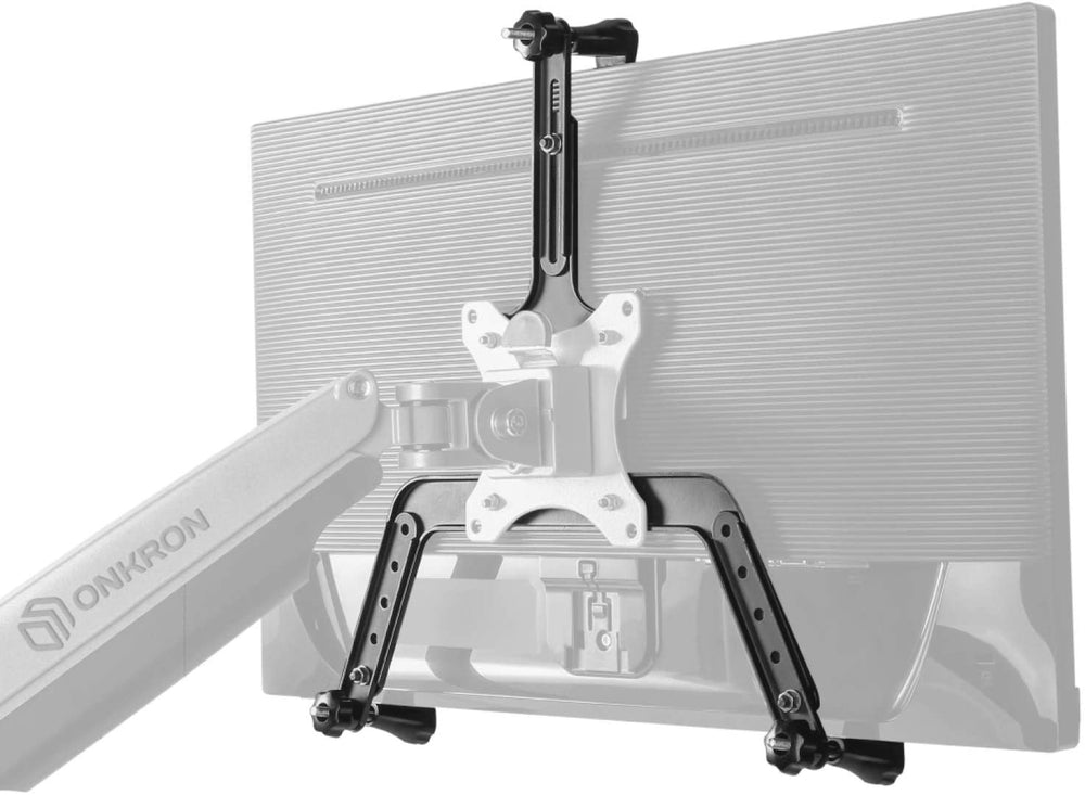 "ONKRON VESA Mount Bracket Non-VESA Monitor Arm Mounting Kit for Screen 17"" to 27- A2V"