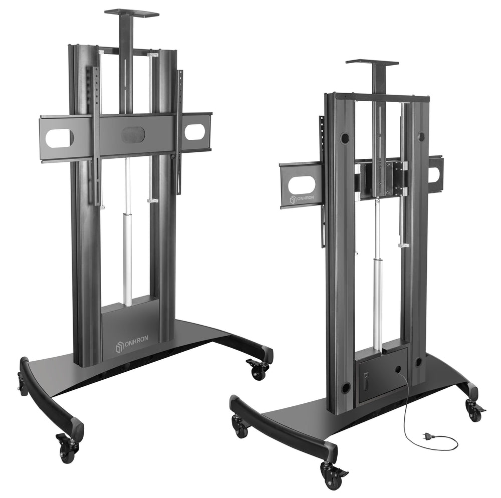 "OnKron Motorized TV Lift Cart for 60""-100"" Screens up to 300lbs TS2210"