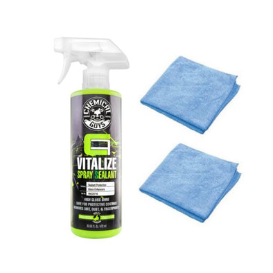 Chemical Guys Carbon Flex Vitalize Quick Detailer & Spray Sealant - Detailing Connect