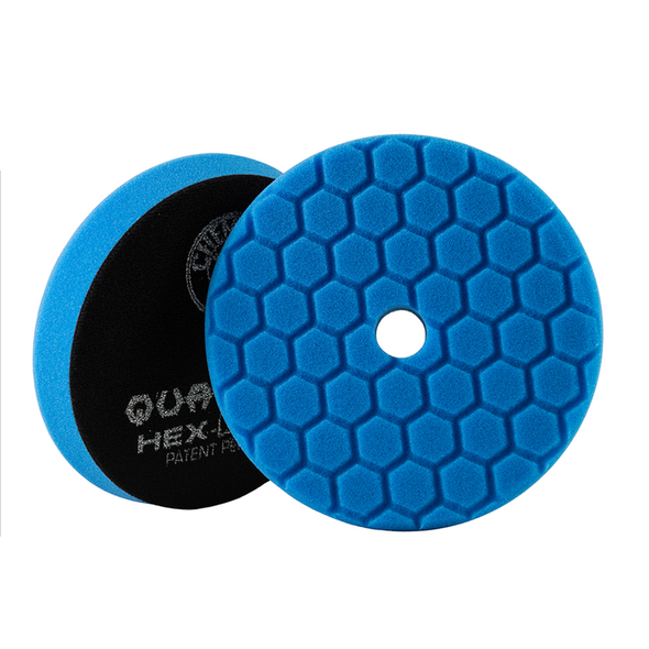 Blue Hex-Logic Quantum Polishing/Finishing Pad 5.5'' - Detailing Connect