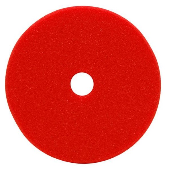 "7"" Uro-Cell Red Finishing Foam Grip Pad - Detailing Connect"