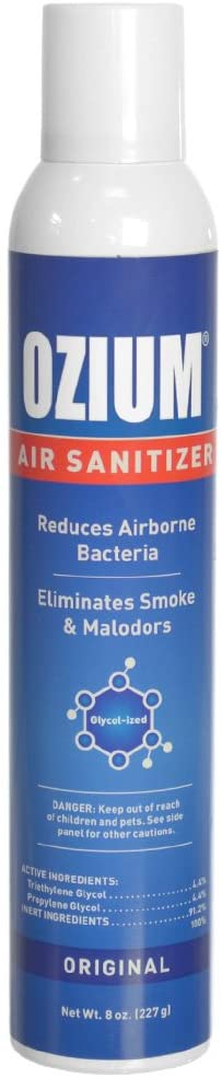 Ozium Air Sanitizer 8 Oz. Spray - Detailing Connect