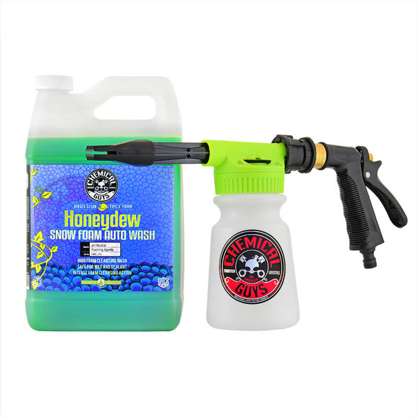 Chemical Guys Foam Blaster 6 Wash Gun & Honeydew Snow Foam Gallon - Detailing Connect