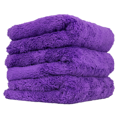 Happy Ending Towel 3 Pack Purple - Detailing Connect