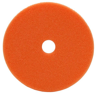 "6"" Uro-Cell Orange Polishing Foam Grip Pad - Detailing Connect"