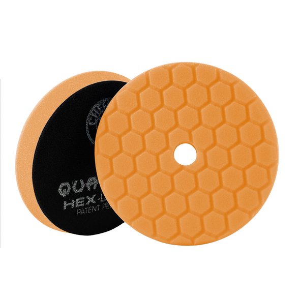 Orange Hex-Logic Quantum Medium-Heavy Cutting Pad 5.5'' - Detailing Connect