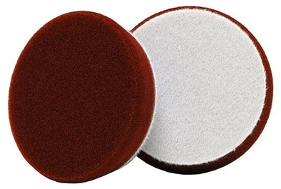 "3"" Uro-Tec Maroon Medium Cut/Heavy Polishing Foam Pad (2 pack) - Detailing Connect"