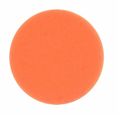 "4"" Orange Foam Grip Pad for Dual Headed Polisher - Detailing Connect"