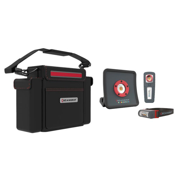 Scangrip MULTIMATCH R Essentials KIT - MiniMatch 2 Multimatch, I-Match 2 - Detailing Connect