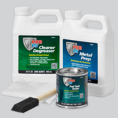 Por-15 Motorcycle Fuel Tank Repair Kit - Detailing Connect