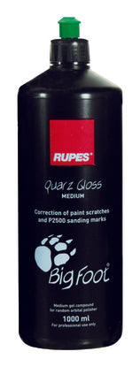 Rupes Quarz Gloss Medium Gel Compound - 1000ml - Detailing Connect