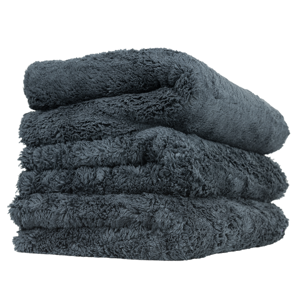 Happy Ending Towel 3 Pack Black - Detailing Connect
