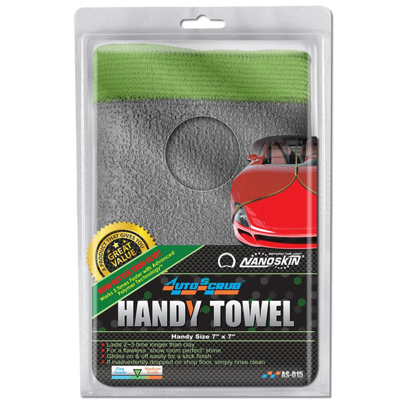 "NANOSKIN AUTOSCRUB Handy Towel 7"" x 7"" General Grade - Detailing Connect"