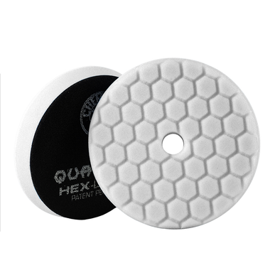 White Hex-Logic Quantum Light-Medium Polishing Pad 6.5'' - Detailing Connect
