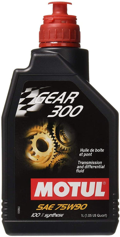 Motul 105777 Gear300 75W90 Synthetic Fluid 1 L - Detailing Connect