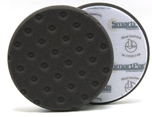 Lake Country CCS Smart Pads DA 5.5 inch Foam Pad (Black, 5.5 inch) - Detailing Connect