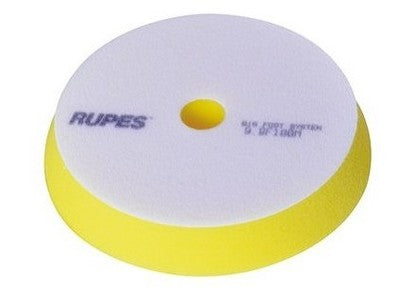 "RUPES Yellow Fine Foam Pad - 5"" - Detailing Connect"