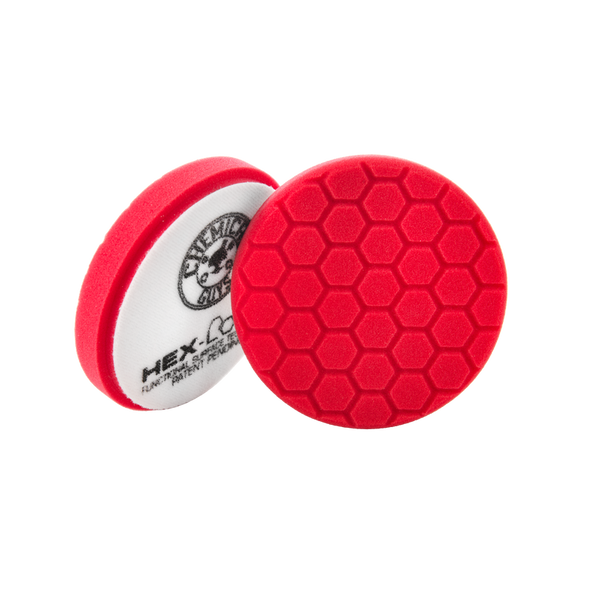 "Red Hex-Logic Ultra Light Finishing Pad 6.5"" - Detailing Connect"