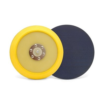 Lake Country - Dual-Action Hook & Loop Flexible Backing Plate - 6 Inch Diameter - Detailing Connect
