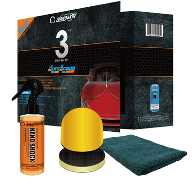 "NANOSKIN NANOSKIN AUTOSCRUB 3"" Start-Up Kit - Detailing Connect"