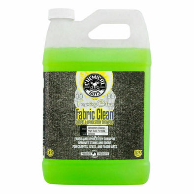 Chemical Guys Foaming Citrus Fabric Clean 1 Gal - Detailing Connect