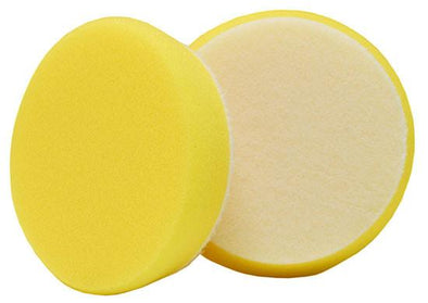 "3"" Uro-Tec™ Yellow Polishing Foam Pad (2 pack) - Detailing Connect"