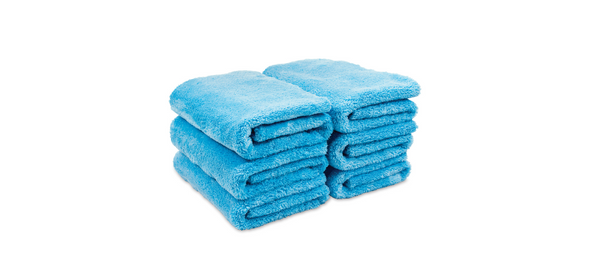 Griot's Microfiber Plush Edgeless Towels, Set of 6 - Detailing Connect