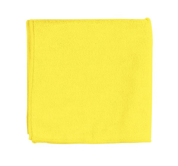 "16"" x 16"" Yellow Micro Fiber Towel - Detailing Connect"
