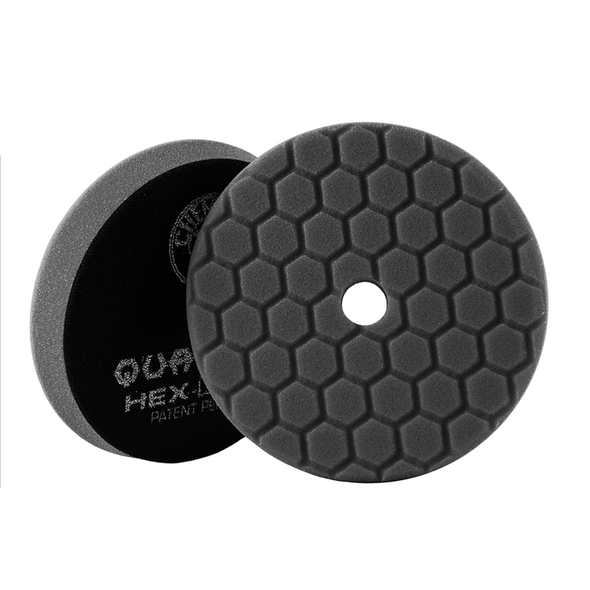 Black Hex-Logic Quantum Finishing Pad 5.5'' - Detailing Connect
