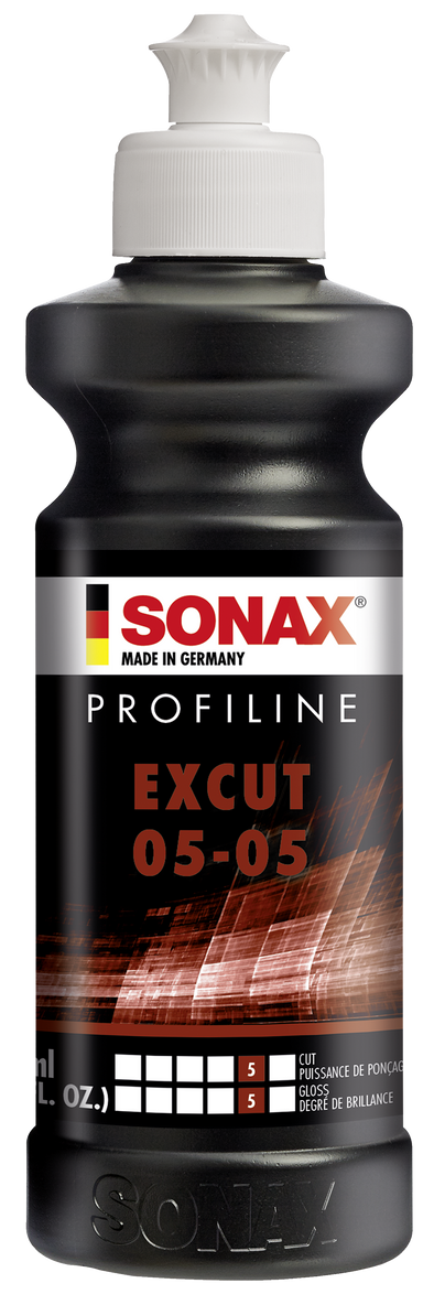 SONAX PROFILINE ExCut 05-05 250ml - Detailing Connect