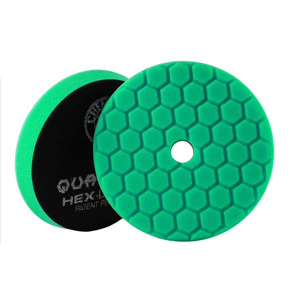 Green Hex-Logic Quantum Heavy Polishing Pad 6.5'' - Detailing Connect