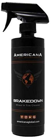 Americana Brakedown Wheel & Tire Cleaner 16oz - Detailing Connect