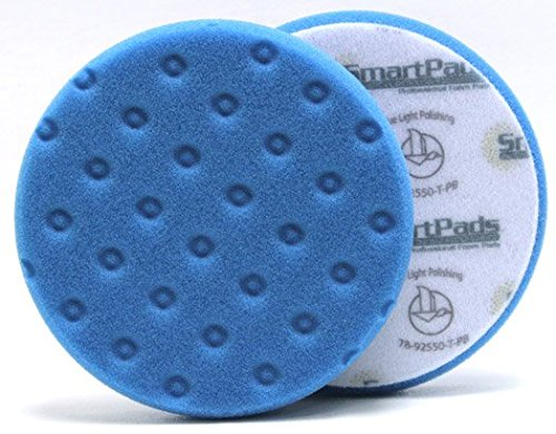 Lake Country CCS Smart Pads DA 6.5 inch Foam Pad (Blue, 6.5 inch) - Detailing Connect