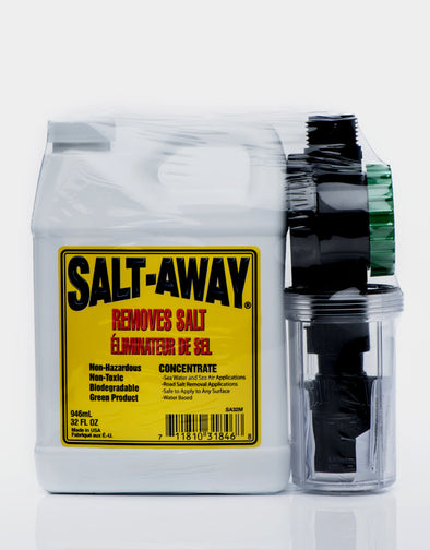 Salt Away Concentrate Kit with Mixing Unit 32oz - Detailing Connect