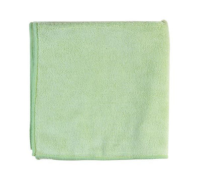 "16"" x 16"" Light Green Micro Fiber Towel - Detailing Connect"