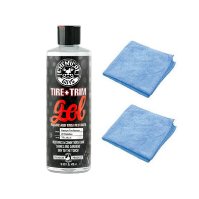 Chemical Guys Tire+Trim Gel for Plastic and Rubber - Detailing Connect
