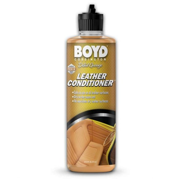 Boyd Coddington Leather Coditioner 16oz - Detailing Connect