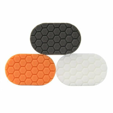 Hex-Logic Hand Polishing Applicator Pads - 3 Pack - Detailing Connect