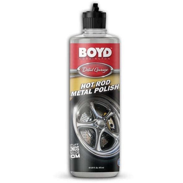 Boyd Coddington Metal Polish 16oz - Detailing Connect